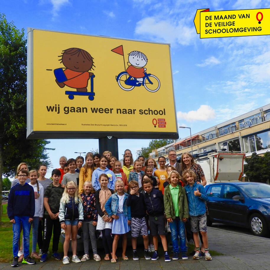 Trotter | Campagne 'wij gaan weer naar school' voor jonge kinderen en voortgezet onderwijs | Leer in het Verkeer