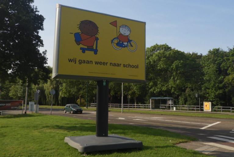 campagne wij gaan weer naar school gemeente rijswijk voor meer verkeersveiligheid in de schoolomgeving ook wel schoolzone genoemd bij de start van het schooljaar als de scholen weer beginnen