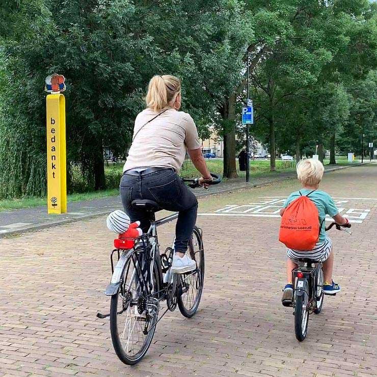 Van 16 tot en met met 20 september vindt de Schoolbrengweek plaats. Een initiatief dat 17 jaar geleden is gestart door School op Seef, onze partner in verkeerseducatie en verkeersveiligheid voor kinderen in het basisonderwijs in de provincie Zuid-Holland