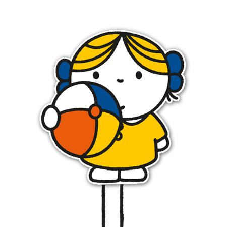 meisje met de bal