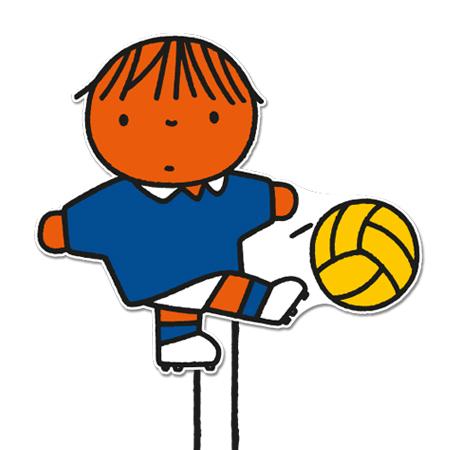 jongetje met voetbal