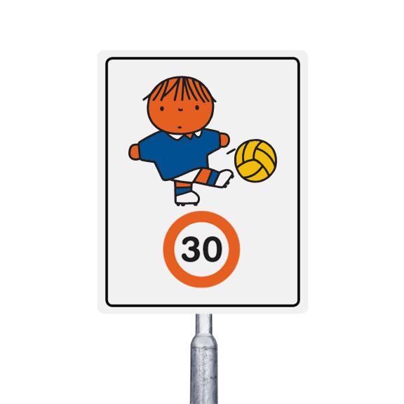 30 km  jongetje met de voetbal (multi)