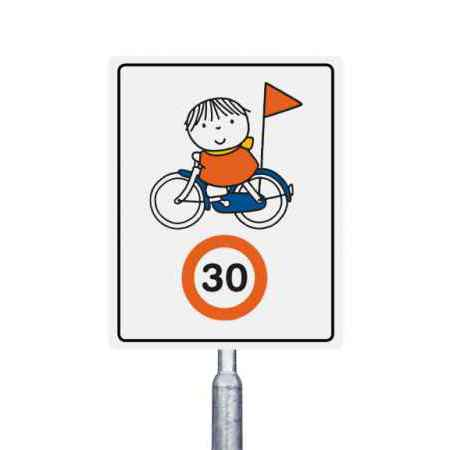 30 km  op de fiets
