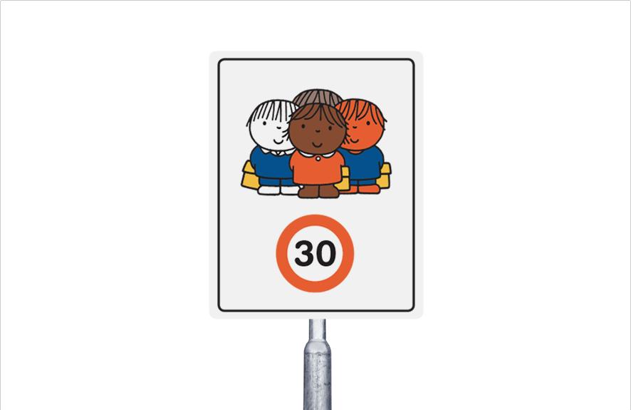 30 km  groepje kinderen (multi)