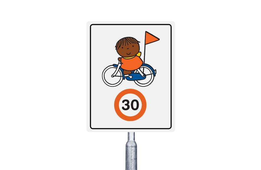 30 km  op de fiets (multi)